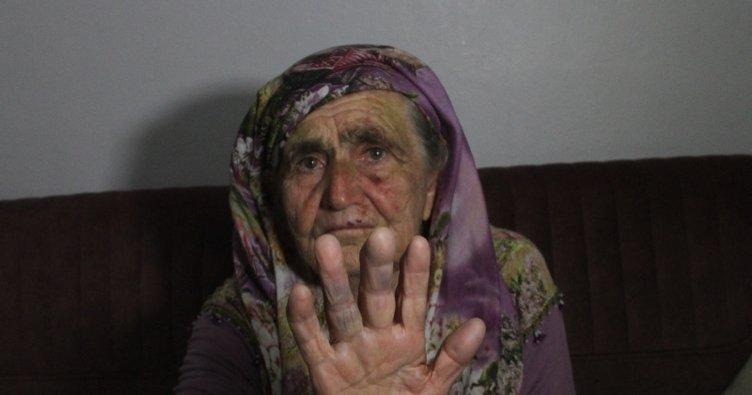 80 yaşındaki kadına tecavüz etmeye çalıştı