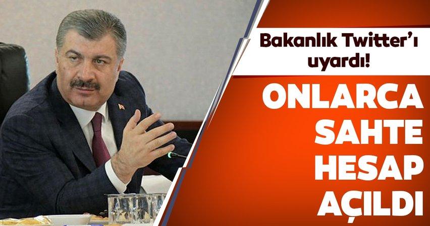 Sağlık Bakanı Fahrettin Koca adına onlarca sahte hesap açıldı! Bakanlık Twitter'ı uyardı! Corona virüs vaka sayısında Türkiye'de son durum