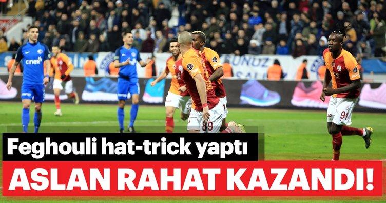 Galatasaray Kasımpaşa deplasmanında rahat kazandı