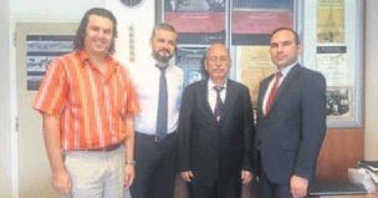 TTK Başkanı'ndan YDÜ'ye ziyaret
