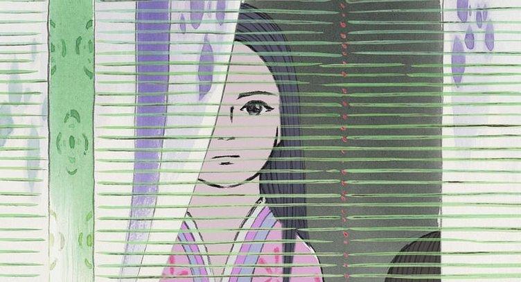 Prenses Kaguya Masalı filminden kareler