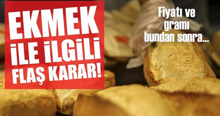 Ekmeğin gramajı ve fiyatına israf ayarı geliyor