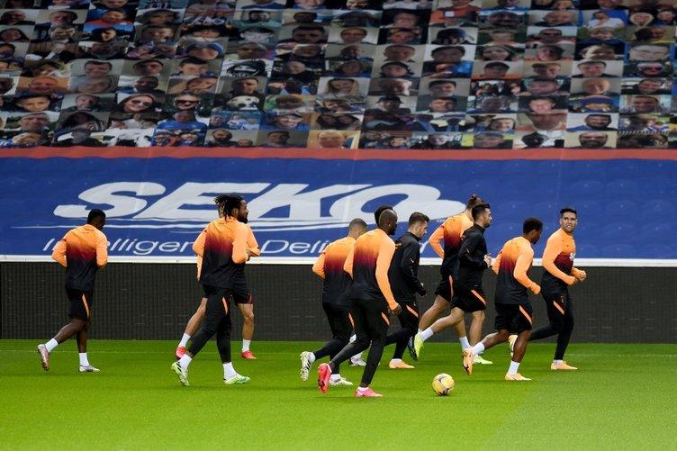 Galatasaray 'Türkiye' için sahada! İşte Galatasaray - Rangers maçı 11'leri
