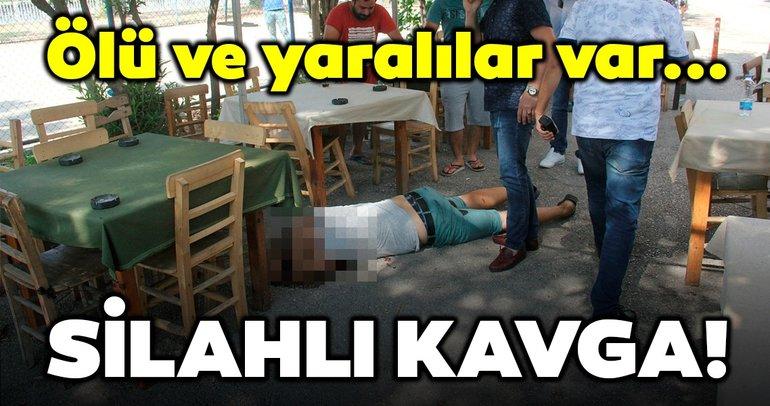 Son dakika: Adana'da silahlı kavga! Ölü ve yaralılar var