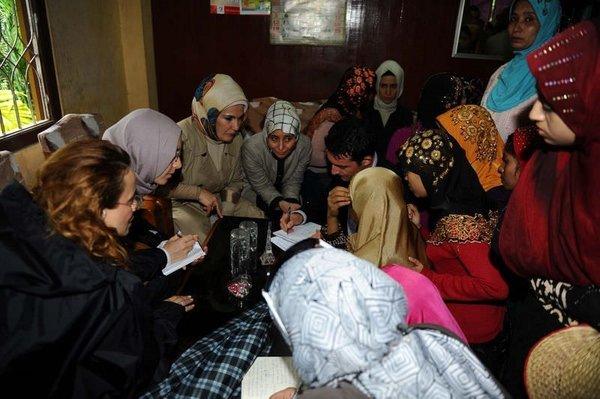 Emine Erdoğan'ı göz yaşlarına boğan görüntüler