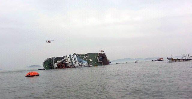 Güney Kore'de gemi faciası!