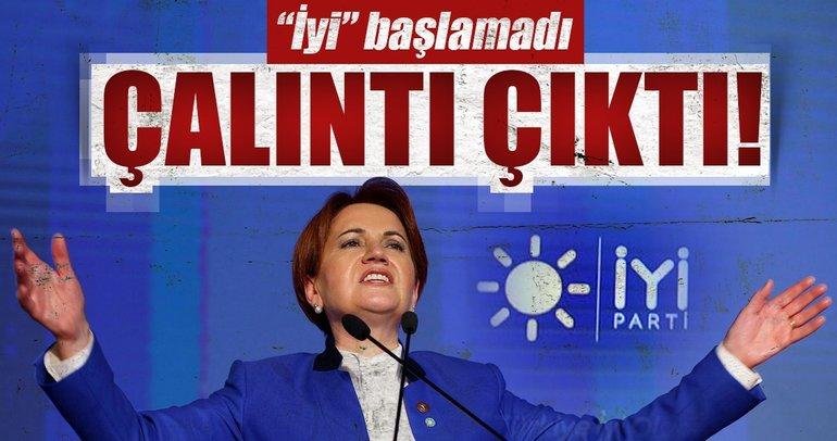 Akşener'in yeni partisinin logosu ve sloganı çalıntı çıktı!