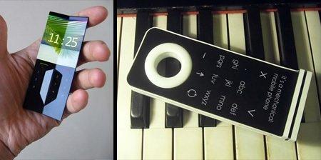 Geleceğin cep telefonu tasarımları