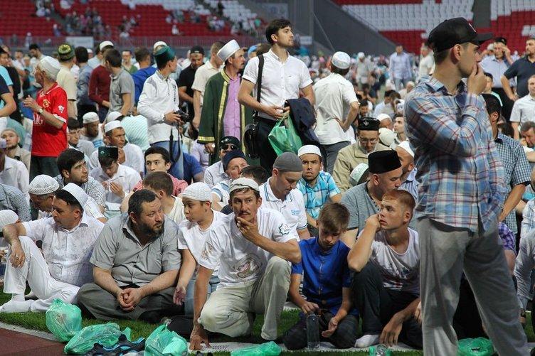 Kazan'da 10 bin kişilik iftar