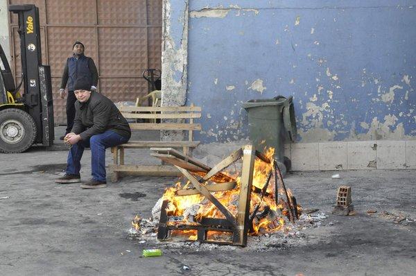 Zeytinburnu Nakliyeciler Sitesi'nde yıkım başladı