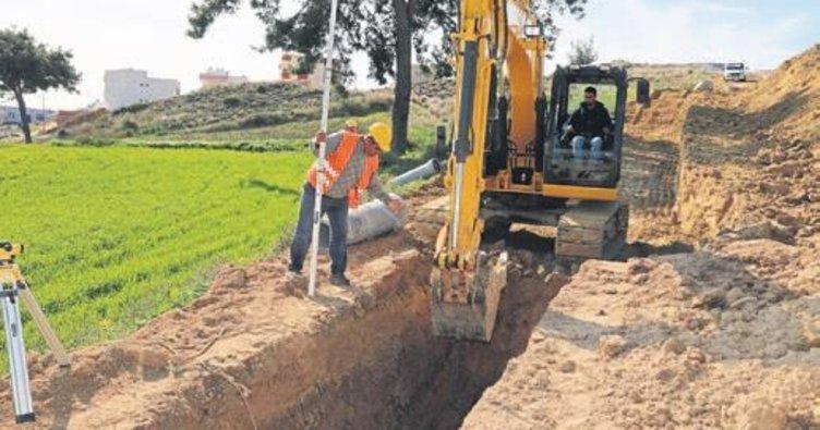 Beyceli Mahallesi'nin alt yapı sorunu bitiyor