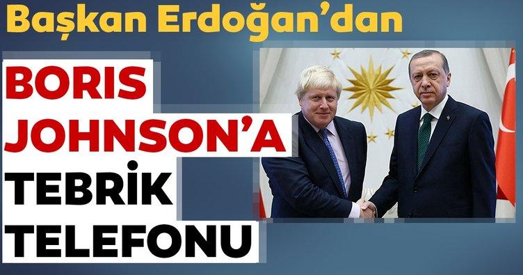 Son dakika! Başkan Erdoğan Boris Johnson ile telefonda görüştü...