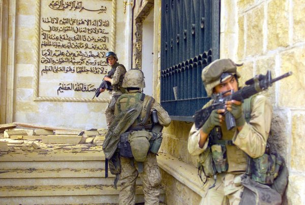 Saddam'ın sarayları...