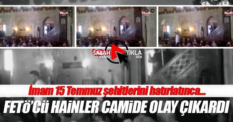 Sırbistan'daki FETÖ'cüler camide olay çıkardı