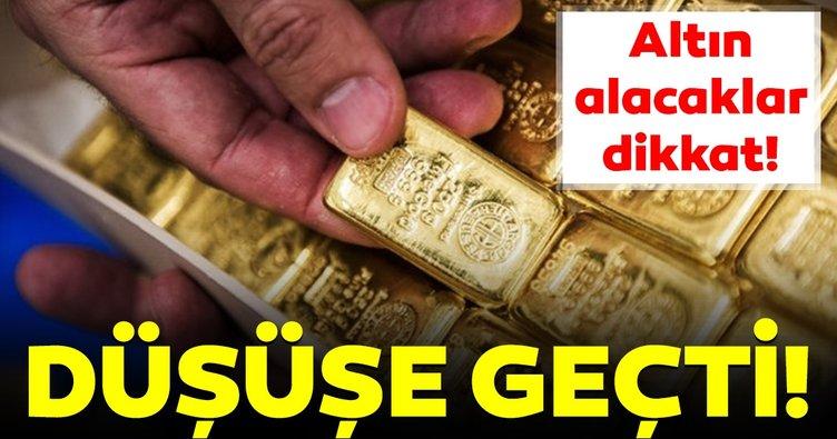Altın fiyatı düşüş eğiliminde! İşte güncel altın fiyatları