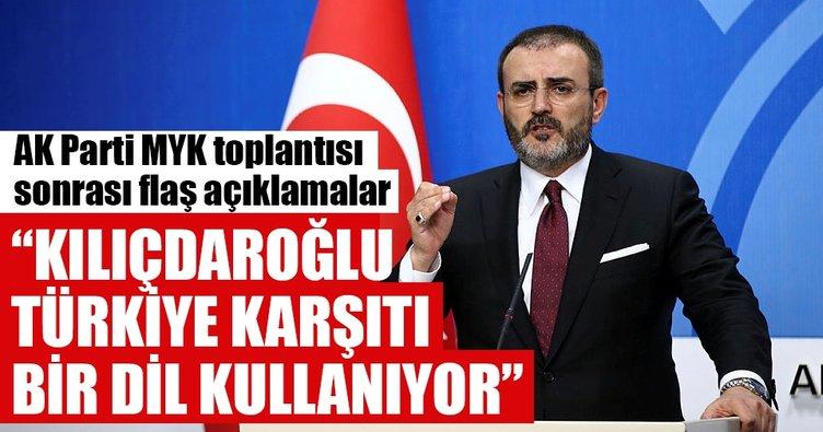 Mahir Ünal: Kılıçdaroğlu Türkiye karşıtı bir dil kullanıyor