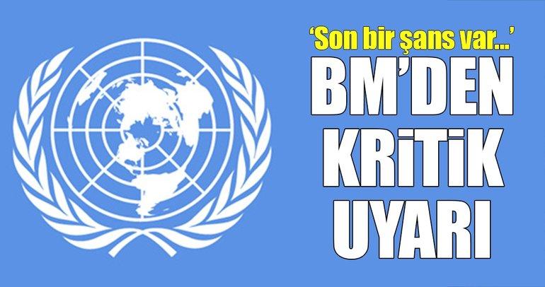 BM'den Suu Çii'ye son şans uyarısı!