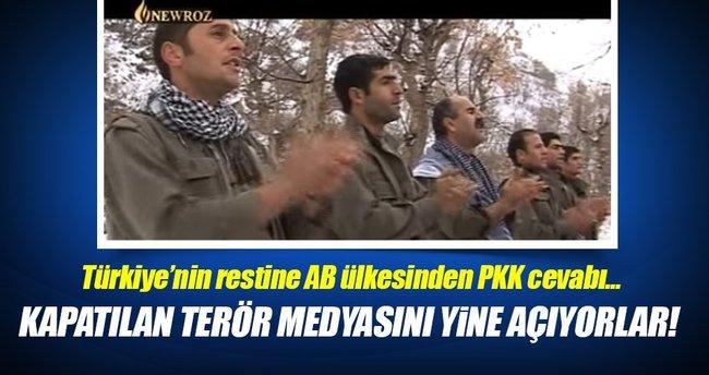 PKK'nın televizyonu Newroz TV'nin yasağı kalktı