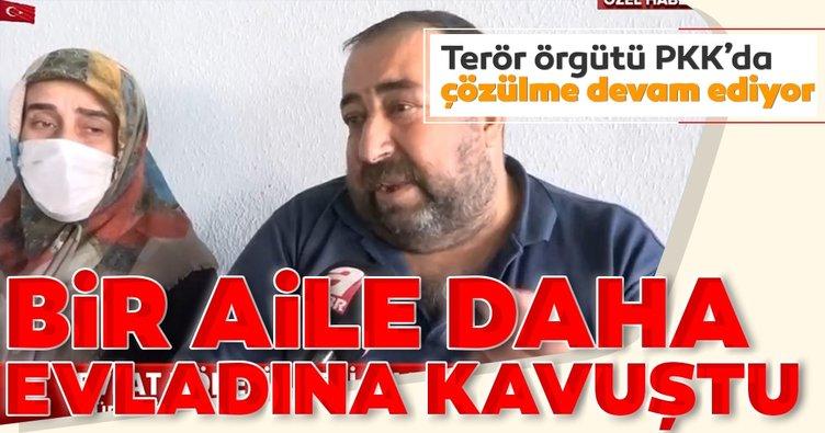 Son dakika: Diyarbakır'da evlat nöbeti tutan bir aileye daha güzel haber