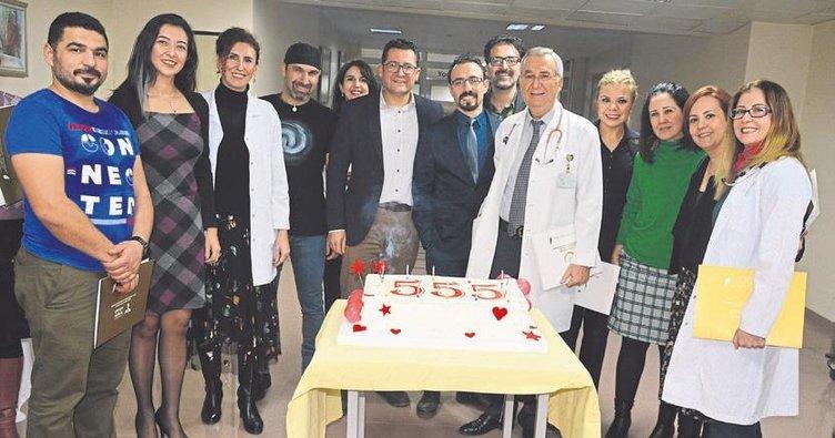 Son 3 yılda 555 çocuk kalp amelıyatı oldu