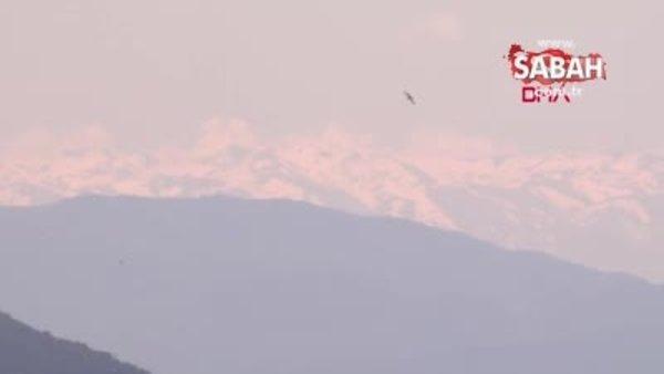 Hava temizlendi, Uludağ İstanbul'dan görüntülendi | Video