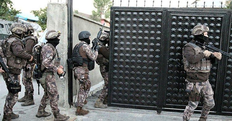 Gaziantep'te uyuşturucu operasyonu: 7 gözaltı