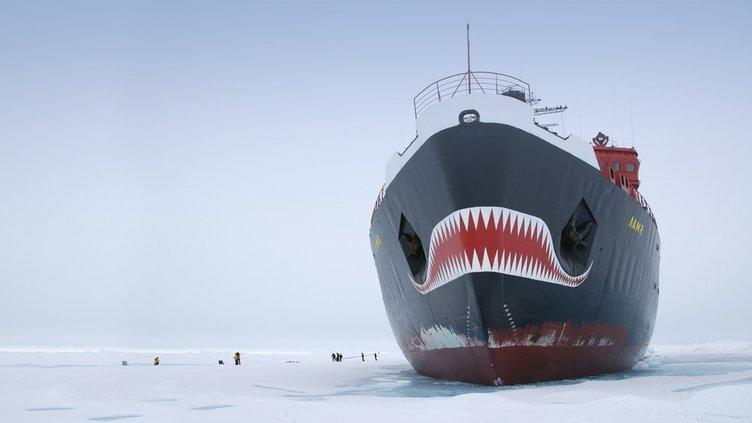 Buzkıran canavar!