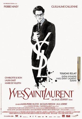 Yves Saint Laurent filminden kareler