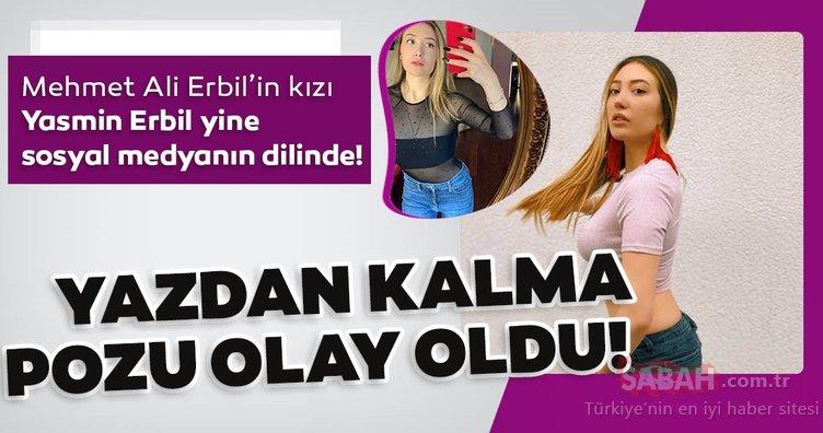 Yasmin Erbil yazdan kalma pozu ile sosyal medyayı salladı! Mehmet Ali Erbil'in kızı Yasmin Erbil iddialı paylaşımlarına yenisini ekledi...