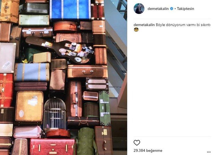 Ünlü isimlerin Instagram paylaşımları (02.10.2017)