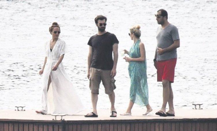 Sinem Kobal ve Kenan İmirzalıoğlu'nun romantik balayı tatili