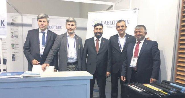 Türk Kablo standına büyük ilgi