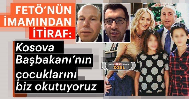 FETÖ'nün imamından itiraf: Kosova Başbakanı'nın çocuklarını biz okutuyoruz
