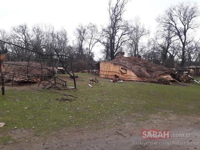 'Recep İvedik 6' filmindeki bungalov evler yıkıldı