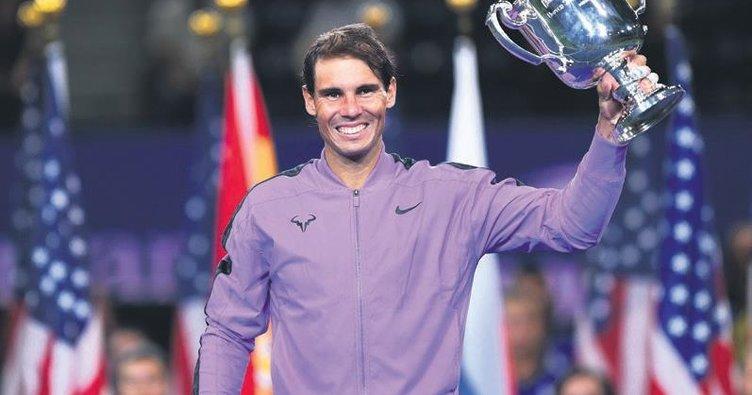 Rafael Nadal'ın 19. harikası