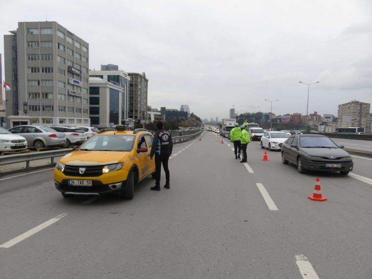 İstanbul'da denetimler artırıldı! Kış lastiği kontrolleri havadan görüntülendi