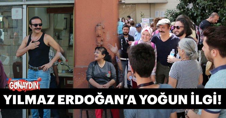 Yılmaz Erdoğan'a yoğun ilgi! Organize İşler 2'nin çekimleri devam ediyor