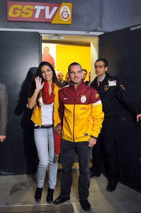 Sneijder'in yeni evi