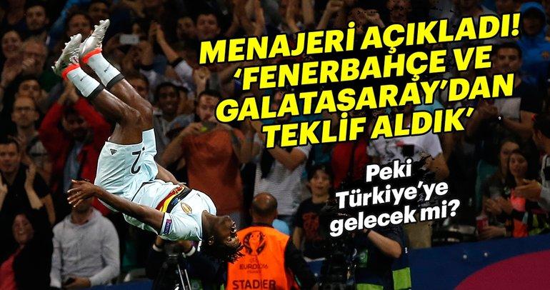 Batshuayi'nin menajeri açıkladı: Fenerbahçe ve Galatasaray'dan teklif aldık
