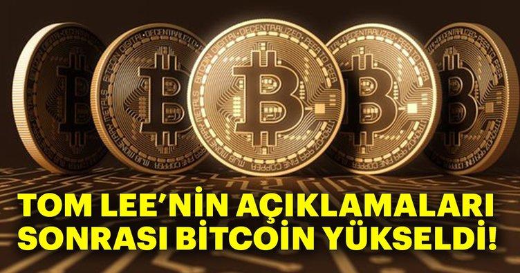 Tom Lee'nin açıklamalarıyla Bitcoin arttı