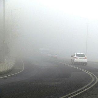 Diyarbakır'da uçuşlara sis engeli