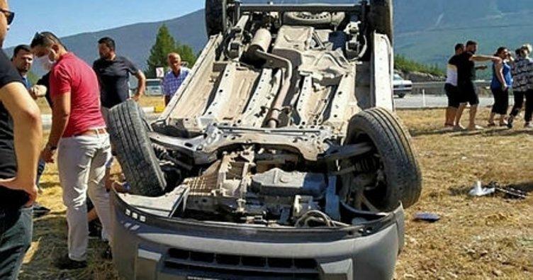 Denizli'de bir haftada 144 trafik kazası!