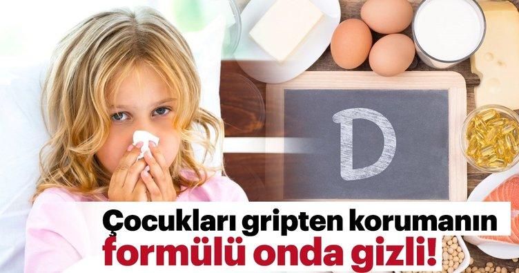 Çocukları gripten korumanın formülü bakın ne!