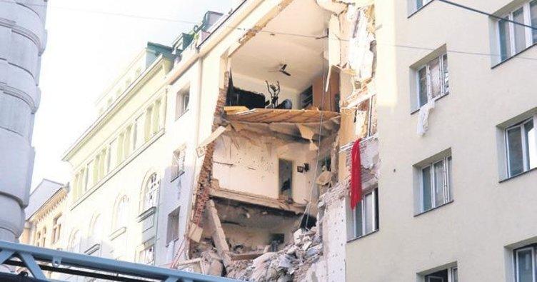 Viyana'da patlama: ikisi ağır 12 yaralı