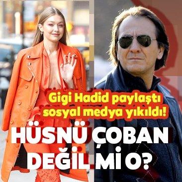 Arka Sokaklar'ın Hüsnü Çoban'ı Gigi Hadid ile yan yana!
