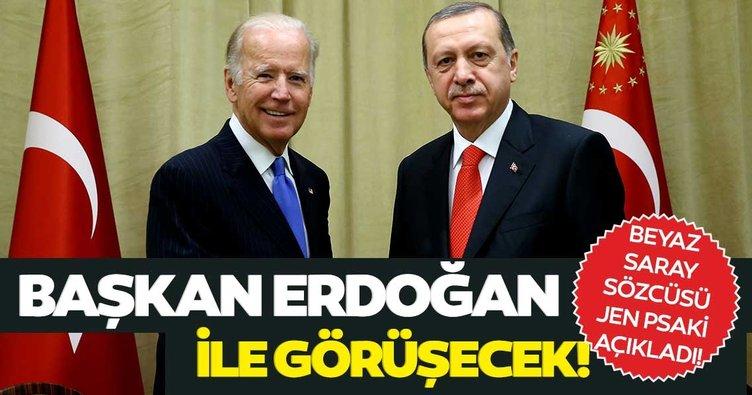 Son dakika: Beyaz Saray açıkladı! Başkan Erdoğan ve Biden görüşecek