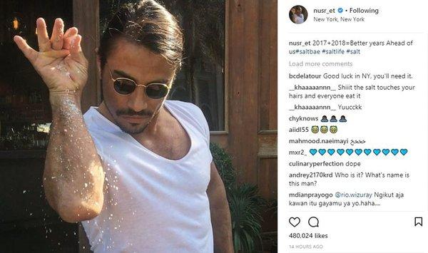 Ünlü isimlerin Instagram paylaşımları (04.01.2018)