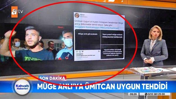 Aleyna Çakır'ın ölümü olayının baş şüphelisi Ümitcan Uygun'un abisinden Müge Anlı'ya ölüm tehditi | Video