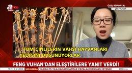 Son dakika! Çinli kadından 'Çinliler her türlü hayvanı ve böcekleri yiyor' diyenlere tepki | Video