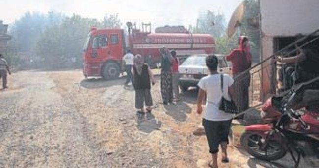 Antalya'yı korkutan yangın söndürüldü